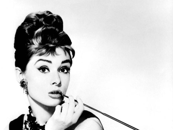 L'actrice Audrey Hepburn