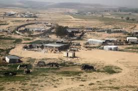 Un village bédouin dans le Negev