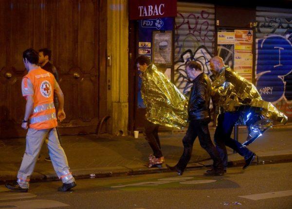 Paris, après l'attentat du Bataclan