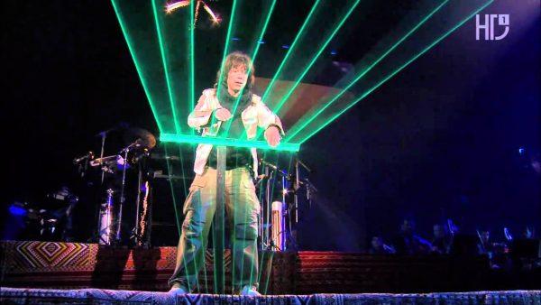 Jean Michel Jarre en concert