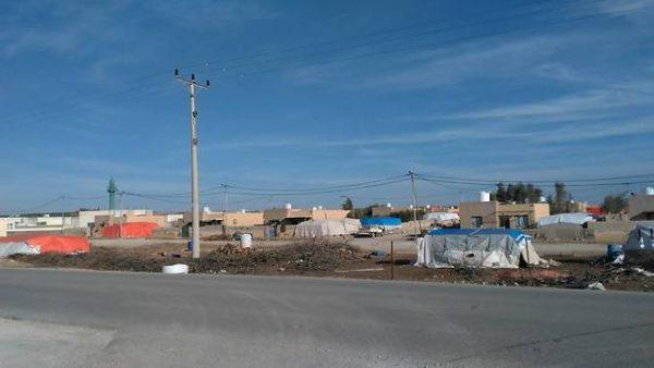 Tentes de réfugiés syriens en Jordanie