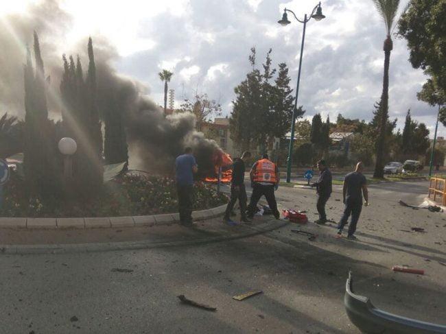 Kiriat Yam: 2 blessés graves dans l'explosion d'une voiture