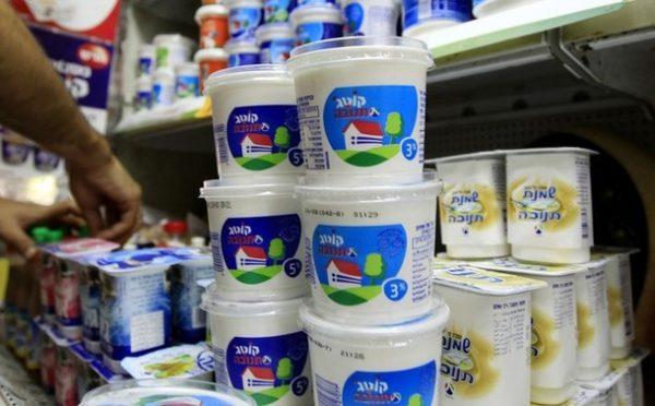 Des produits laitiers israéliens sur les tables russes