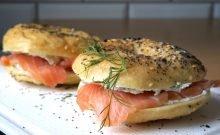 Les meilleurs bagels au saumon new-yorkais