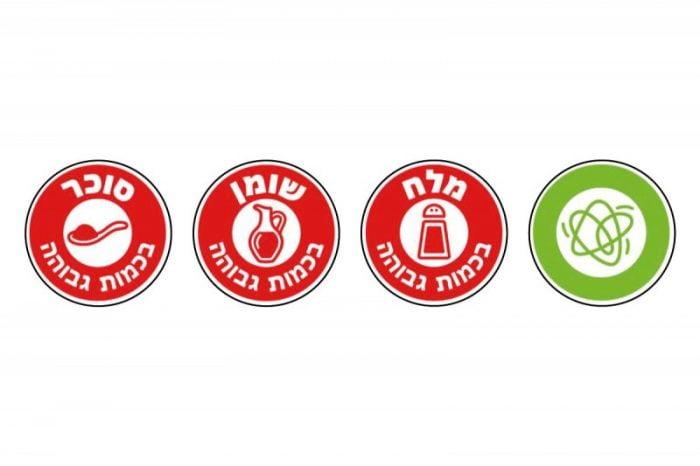 Israël : le marquage des produits alimentaires dits malsains