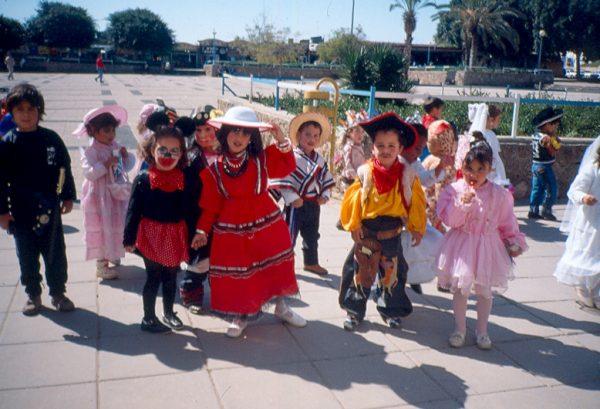 Pourim en Israël: la joie des enfants