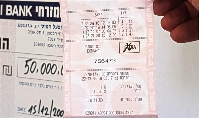 Israël: ils avaient besoin de 4000 shekel, ils ont gagné 12 millions
