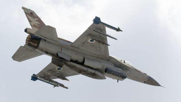 Un F16 de l'armée israélienne