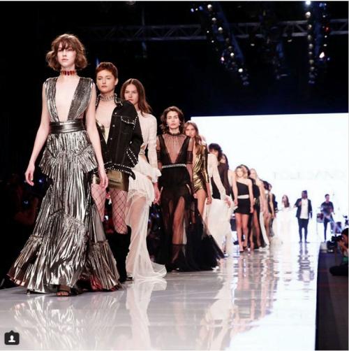 L'un des défilés de la Semaine de la mode à Tel Aviv