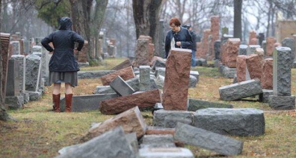 Un cimetière juif vandalisé à St Louis