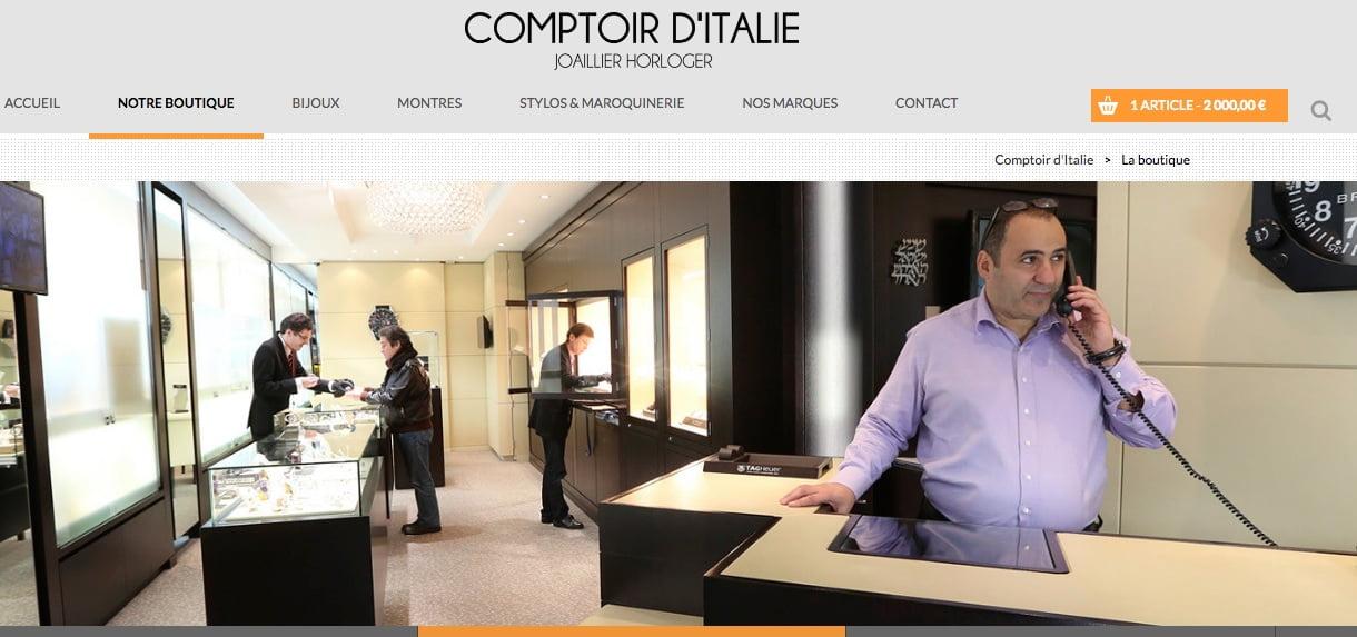 comptoir-italie Guy Beaziz