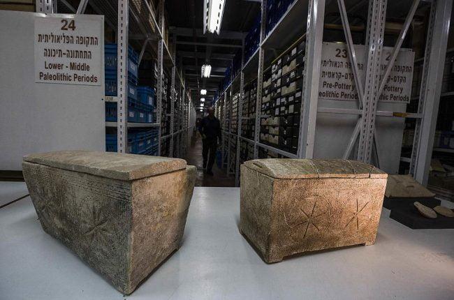 Dans un entrepôt israélien, des indices sur la vie et la mort de Jésus