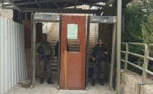 Israël: la grotte des Patriarches inaccessible aux handicapés