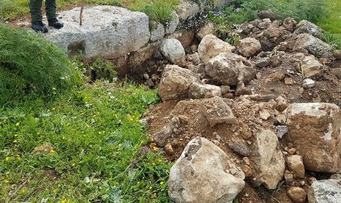 Israël: pris en flagrant délit au volant d'un tractopelle