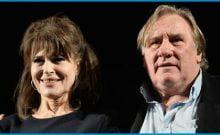 Gérard Depardieu et Fanny Ardant en Israël en mars 2017