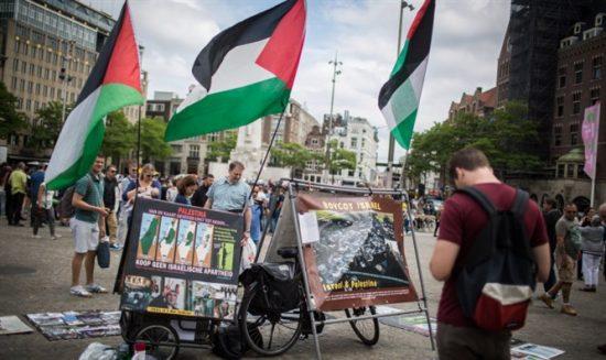 Un stand pro-BDS
