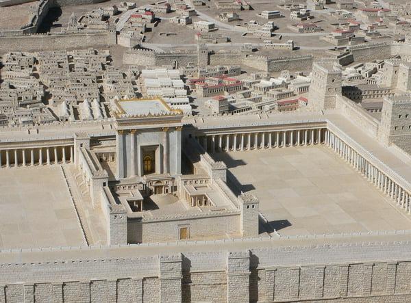 Maquette du Temple de Jérusalem