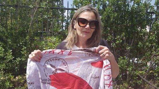 Des draps à motifs nazis trouvés sur un marché en Israël