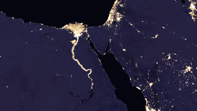 Israël by night : la NASA publie de nouvelles images satellites