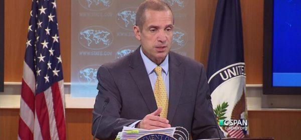 Le porte-parole du Département d'Etat, Mark Toner