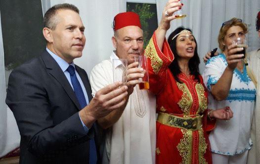 Gilad Erdan et Miri Regev célèbrent la Mimouna