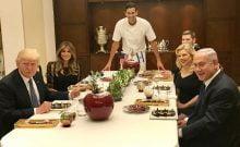 Israël: qui a dit que Trump n'était pas dans son assiette