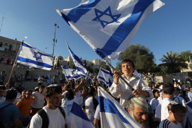 Israël: Mazal TovJerusalem!