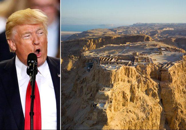 Israël: pas d'accès à Massada pour l'hélicoptère de Trump