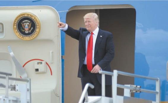 La visite de Trump en Israël qualifiée d'historique à tous points de vue