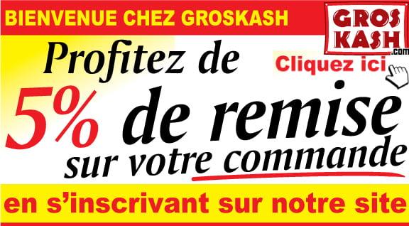 Groskash premier site cacher qui livre dans toute la France en 24 heures chrono