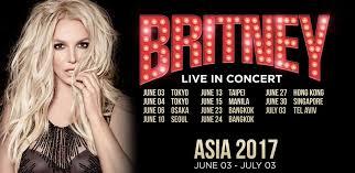 La tournée de Britney Spears en Asie