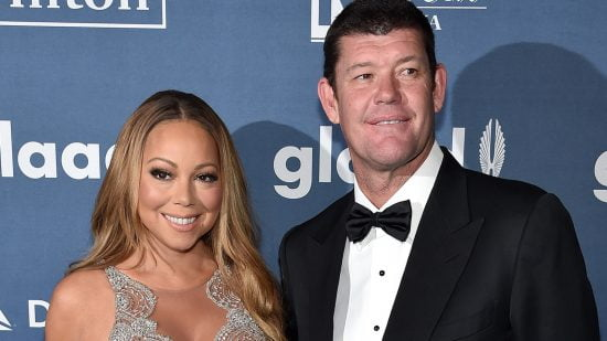 Mariah Carey et James Packer avant leur rupture en 2016