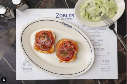 Chez Zobler, le bagel au saumon est à se damner