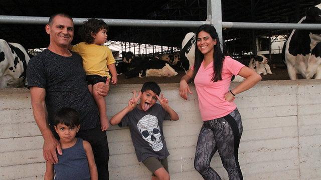 Une famille bédouine adoptée par un kibboutz du nord d'Israël