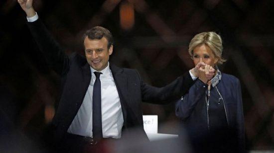 Gabbay et Macron sont tous deux mariés à des femmes fortes qui les ont fortement influencés