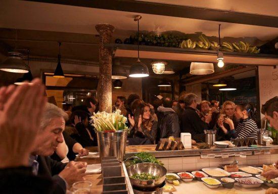 La branche parisienne du restaurant Hamiznon