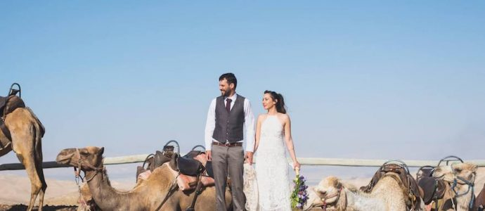 Les israéliens friands de lieux de mariage insolites