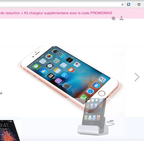 Il est illégal d'acheter des Iphones reconditionnés non certifiés Apple