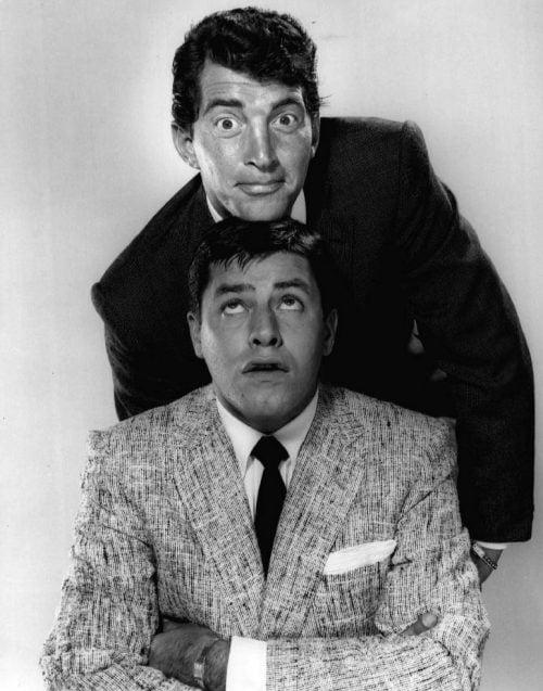 Martin et Lewis en 1955