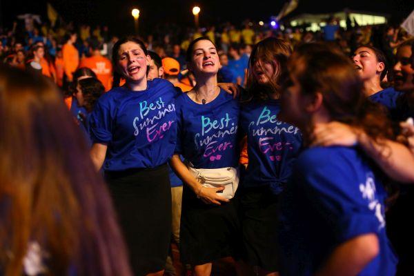 Des milliers de jeunes Juifs américains se rassemblent en Israël