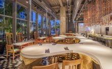 Israël: un designer de talent pour un restaurant spectaculaire