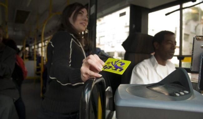 Israël: recharger sa carte de bus dans les distributeurs de billets