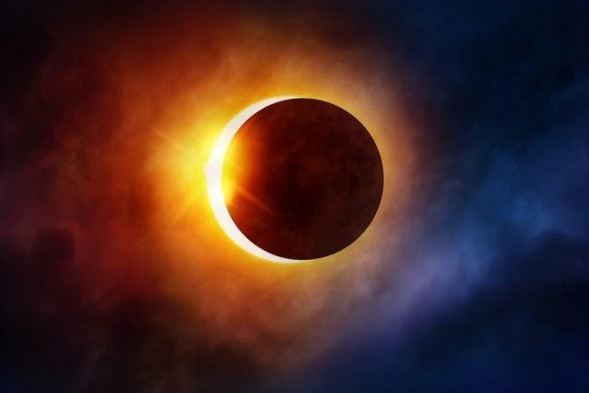 Selon le Talmud de Babylone, les éclipses sont de mauvais augure