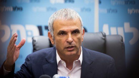 Le ministre des finances Moshe Kahlon