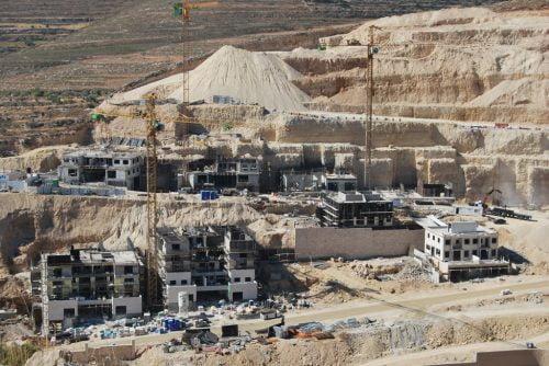 Ramat Guivat Zeev en construction