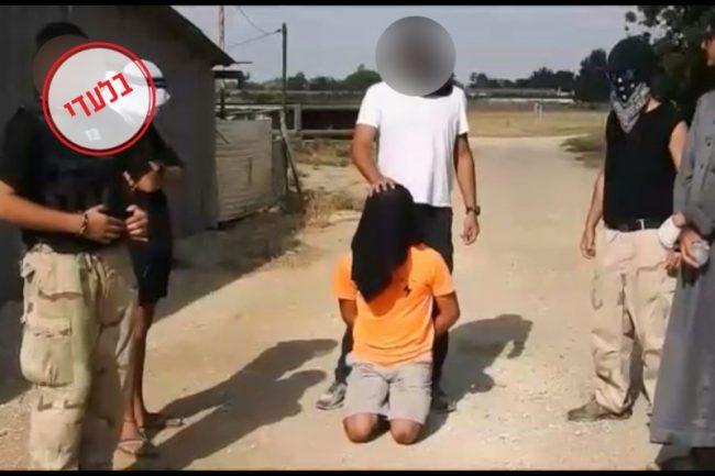 Une mise en scène mimant la barbarie de Daesh dans une prestigieuse école israélienne