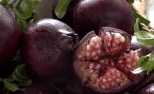 Pomme de cendrillon et grenade noire: les tout nouveaux fruits d'Israël