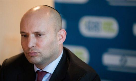 Naftali Bennett, président du Foyer Juif.