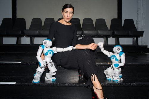 Blanka Li et ses robots