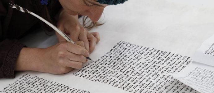 Une synagogue new-yorkaise dévoile un Sefer Tora écrit par une femme